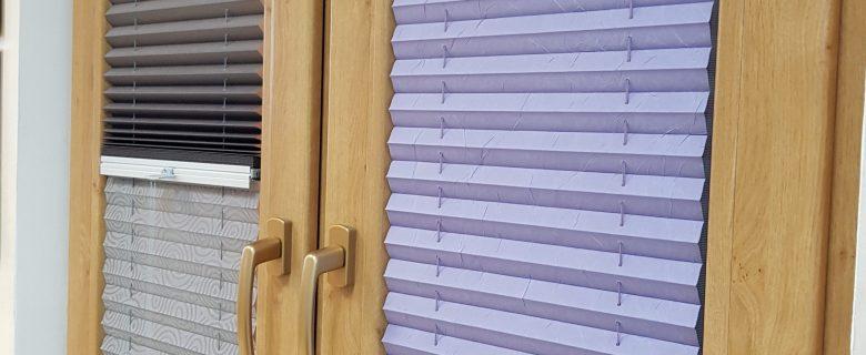Rolety interiérové látkové- PLISE