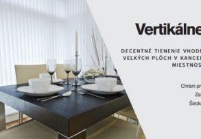 Žalúzie interiérové vertikálne- VERTICAL