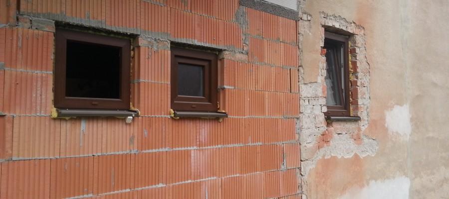 Výmena okien na RD- Hrabové