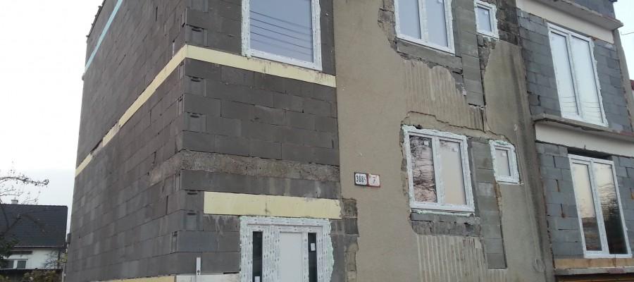 Výmena okien a dverí na RD- Piešťany