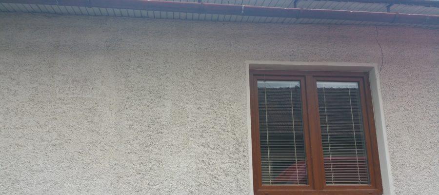 Výmena plastových okien- RD Závodie