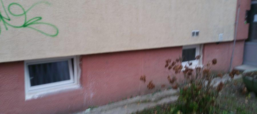 Výmena pivničných okien- BD ul.Čajakova