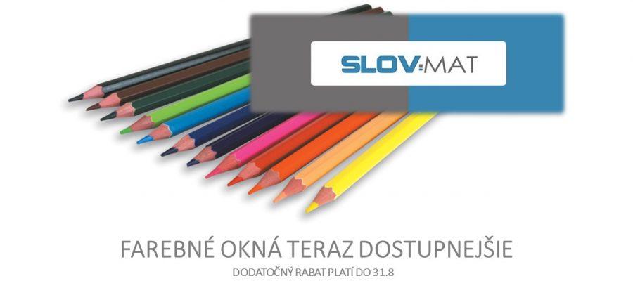 Zvýhodnená ponuka na farebné okná