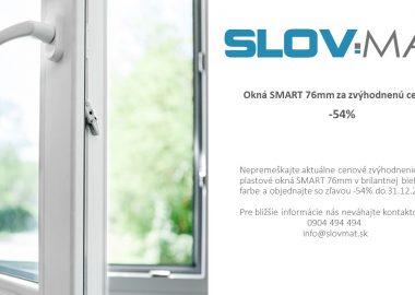 Okná SMART 76mm za zvýhodnenú cenu