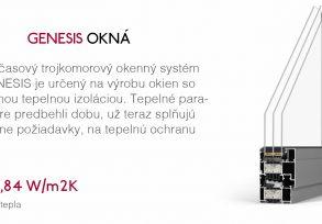 GENESIS OKNÁ