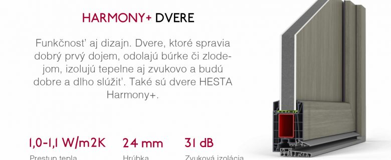 HARMONY+ DVERE