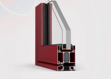 Protipožiarne hliníkové dvere FR90